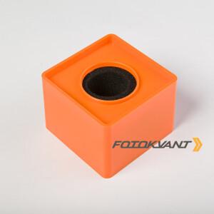 Куб для микрофона оранжевый Fotokvant MAC-14 Orange