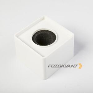 Куб для микрофона белый Fotokvant MAC-14 White