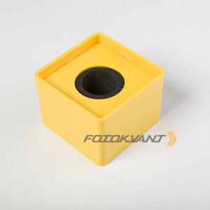 Куб для микрофона желтый Fotokvant MAC-14 Yellow
