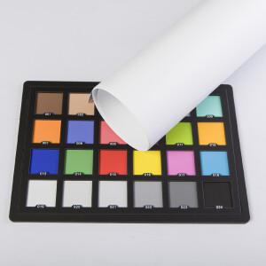 Фон пластиковый белый матовый 0,7х1 м Wansen PB-0710-03 White mat