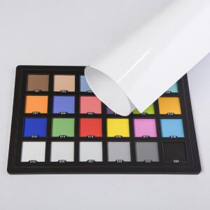 Фон пластиковый белый глянцевый 1х1,4 м Wansen PB-1014-02 White gloss