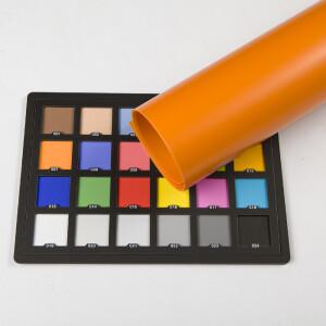 Фон пластиковый оранжевый матовый 0.7х1 м Wansen PB-0710-05 Orange mat