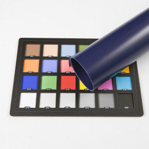 Фон пластиковый темно-синий матовый 0.7х1 м Wansen PB-0710-03 Deep Blue mat