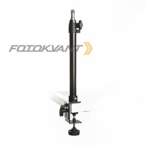 Кронштейн-крепление на струбцине 30-50 см настольное Fotokvant KPP-05