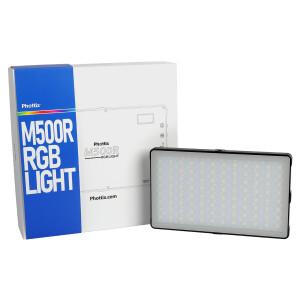 Светодиодный осветитель RGB панель с аккумулятором 18,5Вт 3200K-5600K Phottix (81438) M500R RGB Light LED Panel