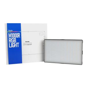 Светодиодный осветитель RGB панель с аккумулятором Phottix (81439) M1000R RGB Light LED Panel