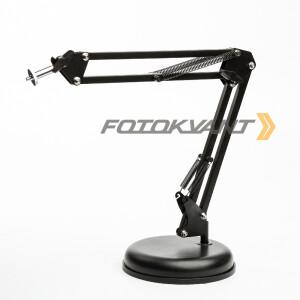 Кронштейн-крепление на подставке для легких камер и освещения пантограф Fotokvant LSS-14