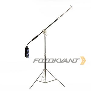 Стойка-журавль 300 см для студийного оборудования Fotokvant LSB-1800S