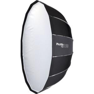 Быстрораскладной октобокс серии Raja 150 см и адаптером Profoto Phottix (82727PF) Raja 150